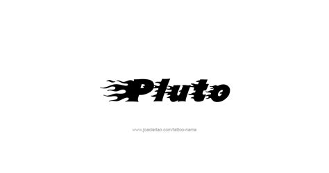 pluto tattoo designs pluto mythology name designs page 4 of 5