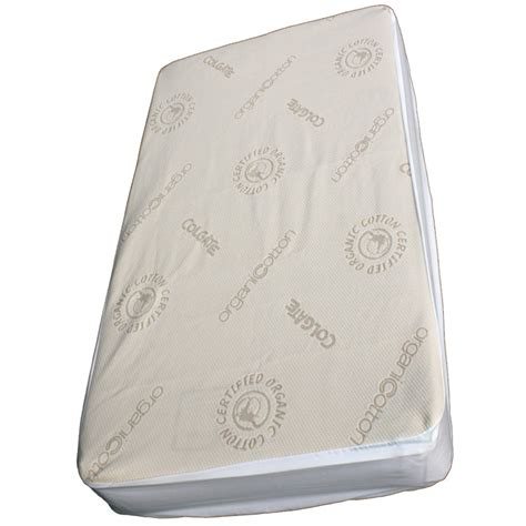 Organic Crib Mattress Cover by Organic Cotton Crib Fitted Mattress Cover By Colgate