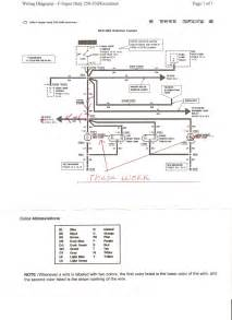 parking lights wiring diagram for ford