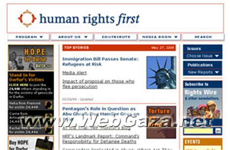 Human Rights First (HRF) - What is Human Rights First?