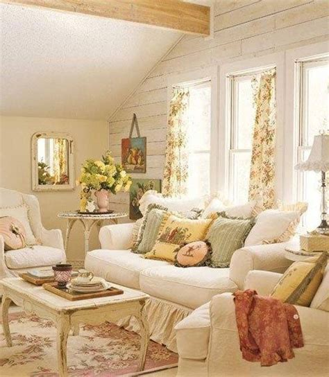 shabby chic livingroom everything cottage style