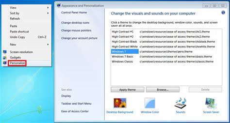 tutorial instal windows 7 starter desktop background wallpaper change in windows 7 starter