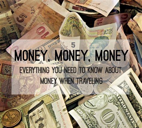 money  traveling