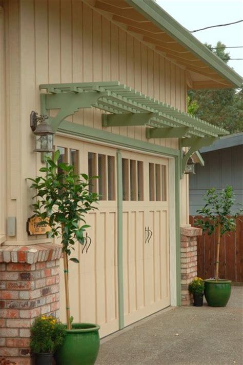 Garage Arbor Healdsburg Traditional Pergolas Arbors Arbor Garage Door