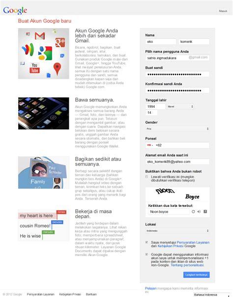 buat akun gmail baru bahasa indonesia semangat bersama cara membuat akun di gmail