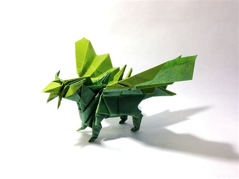 Origami Eastern - 27 spectacular western style origami dragons