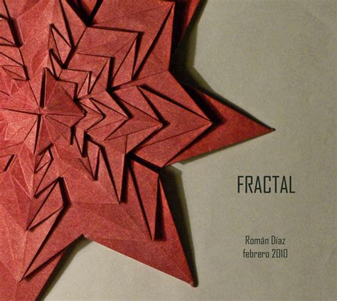 Origami Fractal - works by diaz