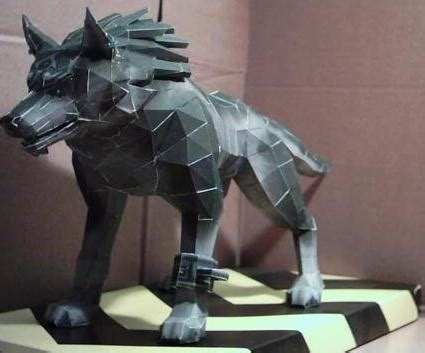 Wolf Link Papercraft - arts and crafts at its finest wolf link