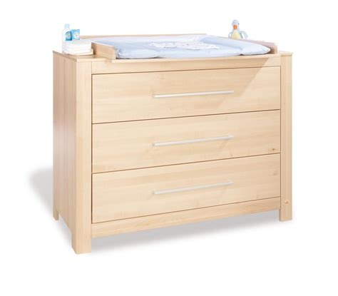 commode a langer bois naturel