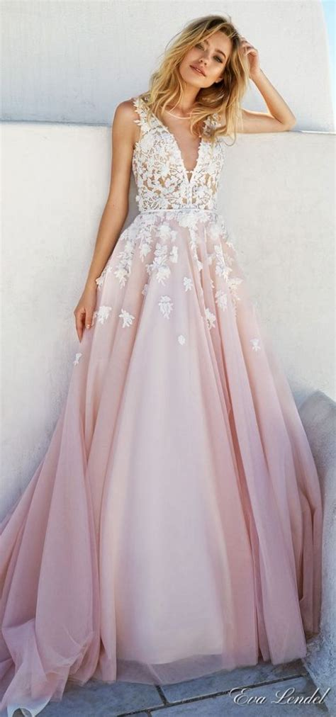 Non White Wedding Dresses by 38 Colorful Non White Wedding Dresses