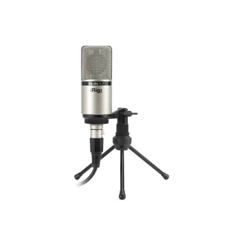 Irig Mic Studio irig mic studio xlr condenser microphone b stock ik multimedia from inta audio uk