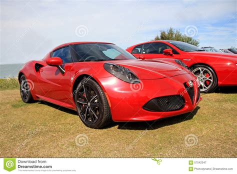Alfa Romeo Sports Car by Alfa Romeo Sports Car Editorial Photography Image Of