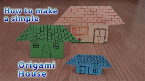 How To Make A Paper With Stem - how to make a simple origami house stem activity for