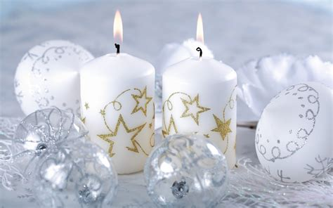 white candles christmas wallpapers