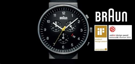 design competition watch braun watches red dot award winner 2012 tic watches