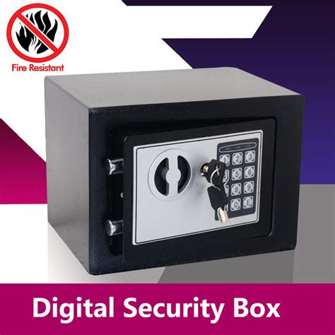 Safety Box Bank digital safe box small household mini steel safes money bank safety security box keep