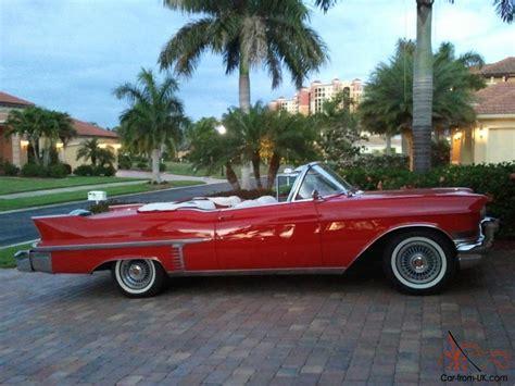 57 Cadillac Convertible by 1957 Cadillac Convertible Series 62