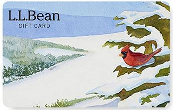 Llbean Gift Cards - l l bean gift card delivered free by mail
