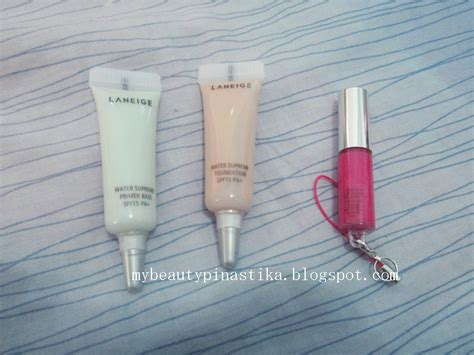 Laneige Water Supreme Foundation pinastika laneige water supreme gift set 3