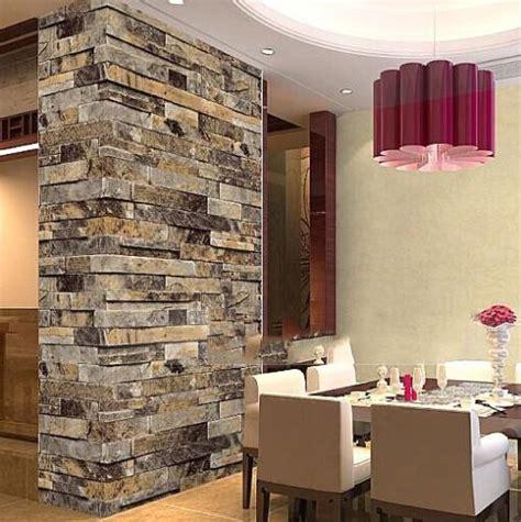 thick wallpaper aliexpress buy modern 3d brick off white stone brick 3d wallpaper bedroom living room background