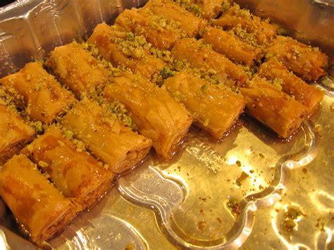 Arabic Sweet Baklava Roll Mixnut easy to make lebanese baklava rolls recipe