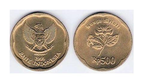 Uang 500 Rupiah Bunga Melati 1991 menguak misteri uang logam 500 rupiah tahun 1991 yang