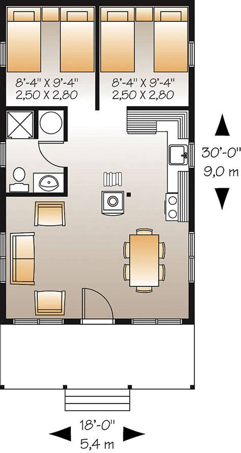 small home floor plan king fisher 1493 2 bedrooms and 1 5 baths the house