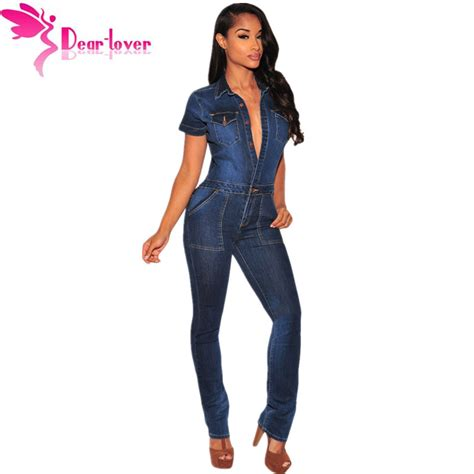 Denim Overalls The Next Big Trend by Aliexpress Buy Dear Lover 2016 Fashion Macacao