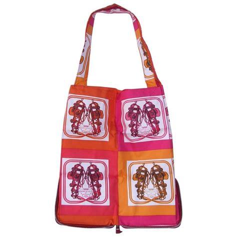 Tivoli Silky Shopper Bag Oranye hermes silkypop tote shopper handbag mini brides de gala