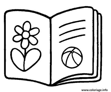 Coloriage Rentree Maternelle Livre Scolaire Dessin Dessin De Livre Scolaire L