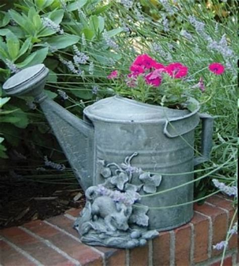 whimsical watering can planter