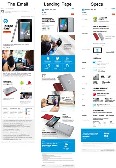 layout de email mkt how to design a seductive email marketing caign like hp
