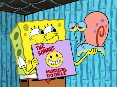 spongebob musical doodle episode name musical doodle encyclopedia spongebobia fandom powered