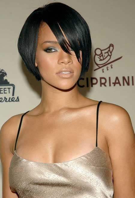 jet black hair for 40 year old woman with red highlights 50 best short hairstyles for black women herinterest com