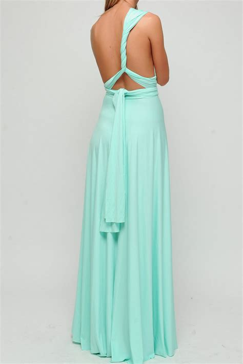 mint green infinity dress mint green infinity dress convertible dress