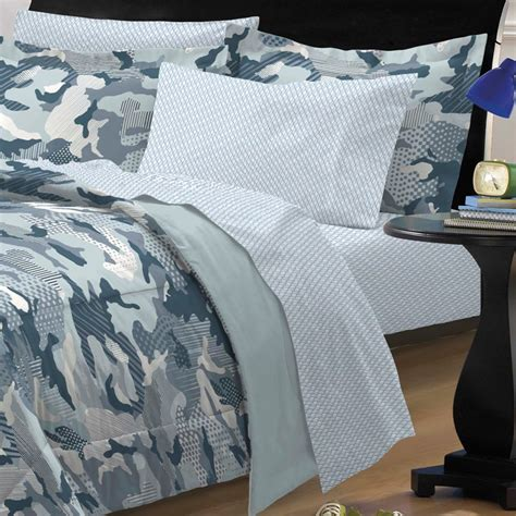 blue camouflage bedding new geo camo steel blue gray camouflage bedding kid