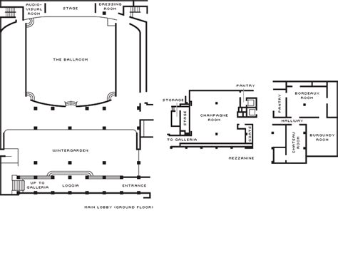 800 Sq Ft To M2 by Ballroom In Beverly Hills Weddings Amp Events Venue Four