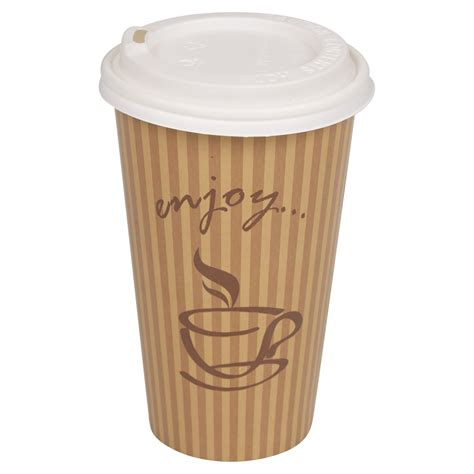 Ananastarte Without Paper Cup 100 1000 disposable drink takeaway paper cups tea coffee lids 10oz 12oz 16oz ebay