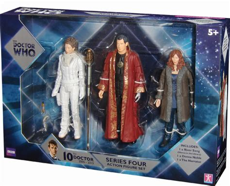 b m figures doctor who series four b m exclusive 5 figure set