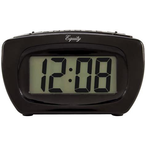 equity  la crosse  super loud digital alarm clock
