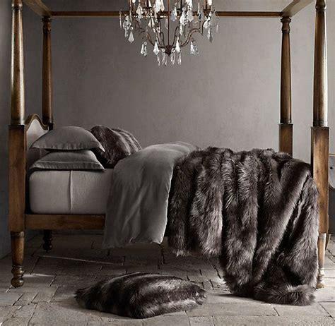 black faux fur comforter best 25 fur throw ideas on pinterest fur decor ivory