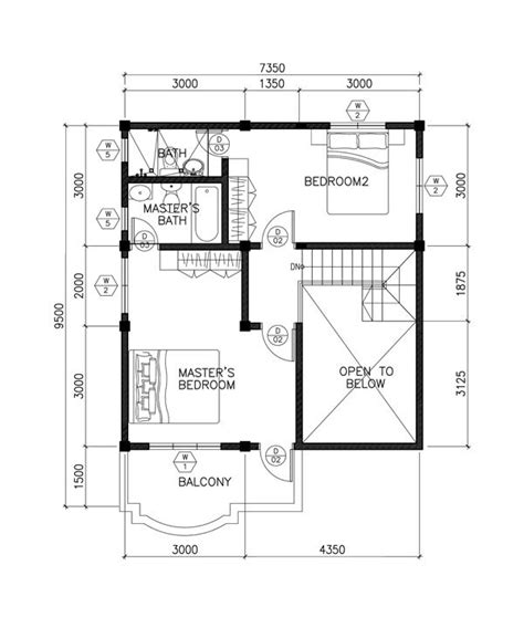 open to below house plans sarah dramatic open to below two storey house pinoy eplans
