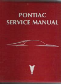 service manual free car repair manuals 1983 pontiac 6000 electronic toll collection service 1983 pontiac rear wheel drive service manual f models