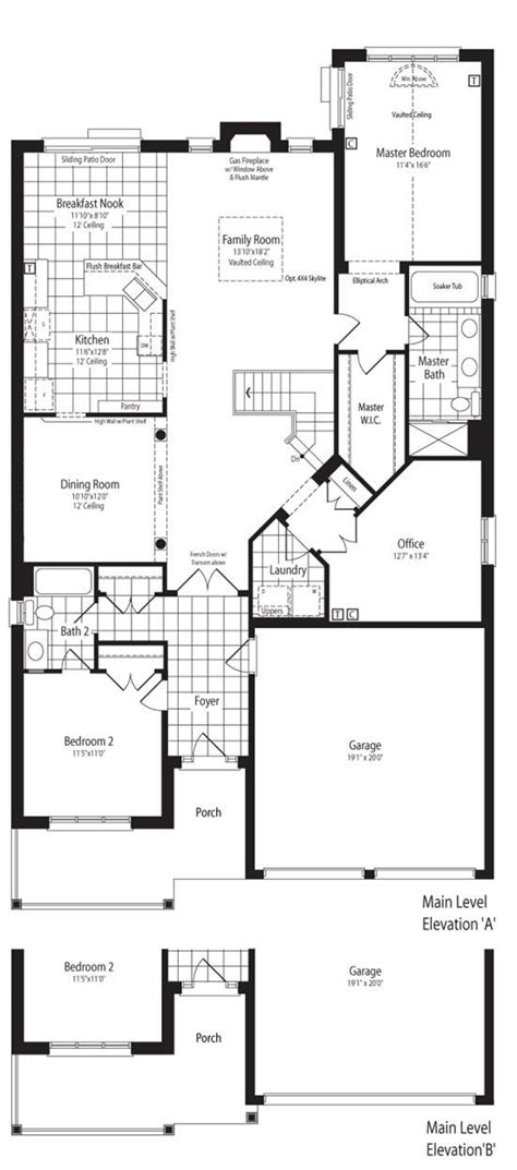Bungalow With Loft Floor Plans | monarch topper woods mahogany with loft bungalow