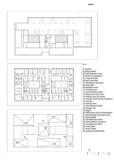 health center floor plan gallery of nozay health center a samueldelmas 20