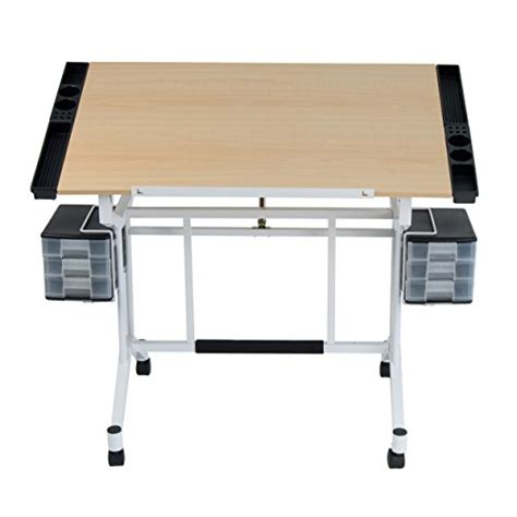 Drawing Table Craft Station Drawer Removable Side Tray Drafting Table Tray