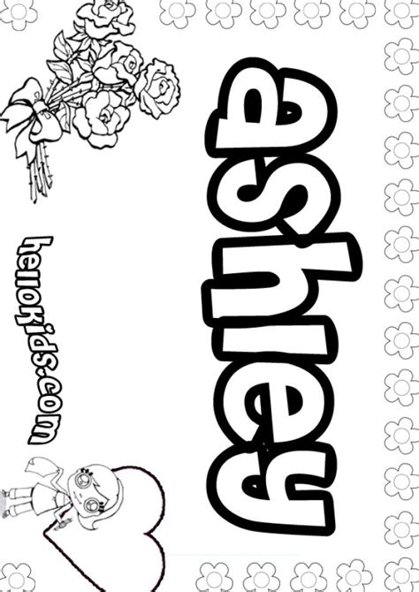 coloring pages of names coloring home