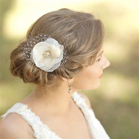 vintage flower wedding hair accessories wedding hair flower fascinator wedding hair bridal