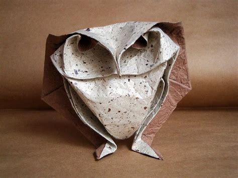 Origami Paper Owl - vidhy4 on technology and architecture