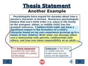 thesis statement sentence thesis statement lisa simpson on thesis statements amp topic sentences